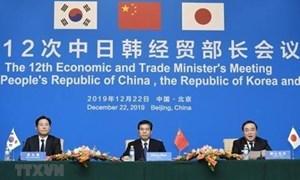 Trung-Nhật-Hàn cam kết đẩy mạnh đàm phán tự do thương mại