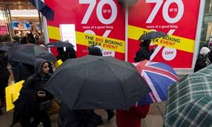 Ngày Boxing Day đìu hiu tại Anh, doanh thu thấp nhất 10 năm qua