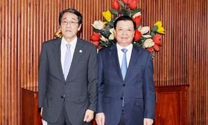 Việt Nam - Nhật Bản tăng cường hợp tác phát triển bền vững