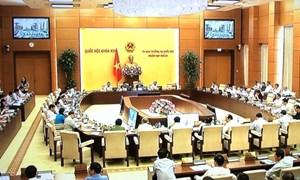 Khai mạc Phiên họp thứ 28 của UBTV Quốc hội