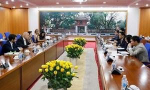 Thứ trưởng Trần Xuân Hà tiếp Đại sứ Italia tại Việt Nam