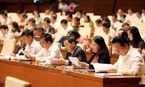 Hôm nay, bắt đầu lấy phiếu tín nhiệm chức danh do Quốc hội bầu hoặc phê chuẩn