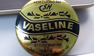 Thu hồi khẩn cấp kem dưỡng ẩm Vaseline SH
