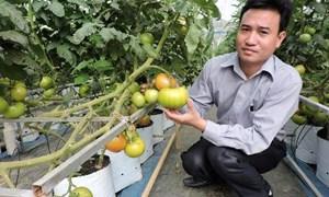 Đầu tư khoa học nông nghiệp bắt đầu từ công nghệ cao
