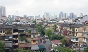 Phương án mới cải tạo chung cư cũ