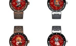 Louis Vuitton ra mắt thiết kế đồng hồ 12 con giáp đón Tết Canh Tý