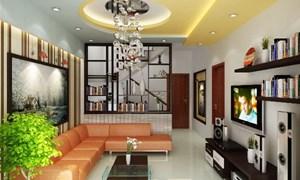 Nguyên tắc thiết kế nội thất phòng khách nhà ống