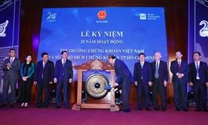 Thị trường chứng khoán Việt Nam khẳng định kênh huy động vốn quan trọng của nền kinh tế