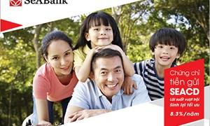 SeABank phát hành chứng chỉ tiền gửi lãi suất lên tới 8,6%/năm