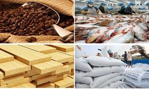 Tháng 01/2019, thặng dư thương mại các mặt hàng nông, lâm, thủy sản ước đạt 583 triệu USD