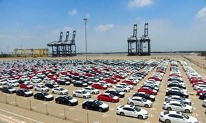 Tháng đầu năm lượng ô tô nguyên chiếc nhập khẩu giảm mạnh
