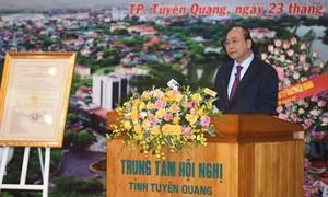 Thủ tướng dự Lễ phát động Chương trình trồng 1 tỷ cây xanh