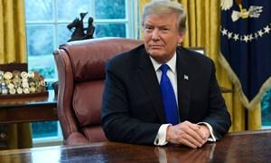 Trump tuyên bố dừng tăng thuế với hàng hóa Trung Quốc, có thể gặp Tập Cận Bình