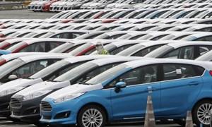 Đầu năm 2019, sản lượng tiêu thụ xe ô tô tăng 27%
