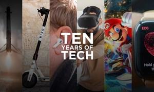 9 cột mốc công nghệ thập kỷ qua