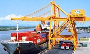 Hàng hóa thông qua cảng biển vẫn tăng trưởng