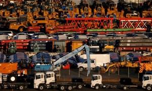 Nhật Bản: Xuất khẩu giảm và nỗi lo áp thuế từ Mỹ