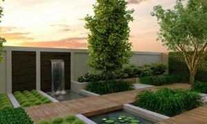 Cách thiết kế sân vườn biệt thự theo phong cách hiện đại