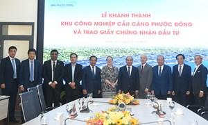 Việt Nam hoan nghênh các tập đoàn quốc tế đầu tư, mở rộng đầu tư vào Việt Nam