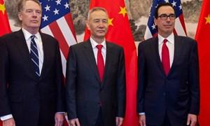 """Bộ trưởng Tài chính Mỹ có """"bữa tối làm việc hiệu quả"""" với đại diện Trung Quốc"""