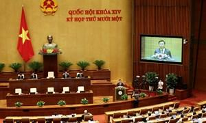 Quốc hội miễn nhiệm Thủ tướng Chính phủ và Chủtịch nước