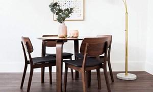 Những kiểu bàn ăn nhỏ gọn dành cho gia đình ít người