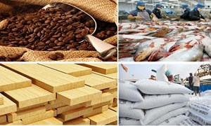 Tháng 03/2018, xuất khẩu nông, lâm, thuỷ sản ước đạt 3,3 tỷ USD