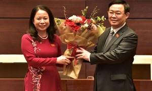 Bí thư Tỉnh uỷ An Giang Võ Thị Ánh Xuân đắc cử Phó Chủ tịch nước