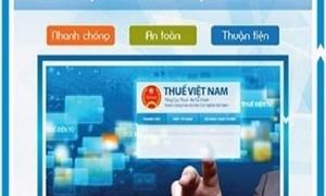 Xây dựng ngành Thuế Việt Nam hiện đại, tập trung, tinh gọn, hoạt động hiệu lực, hiệu quả