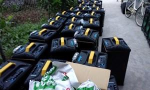 Vụ nghi 1 tấn ma túy bỏ bên đường: Thu giữ thêm 100 bao tải và loa thùng có ma túy