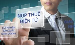 Người nộp thuế được thực hiện các giao dịch điện tử 24/7 trong lĩnh vực thuế
