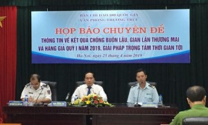 Tổng cục Hải Quan: Buôn bán ma túy nay được tính bằng tấn