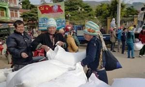 Xuất cấp gần 60 tấn gạo từ nguồn dự trữ quốc gia cho tỉnh Sơn La