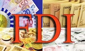 Việt Nam đón nhận 12,25 tỷ USD vốn FDI trong 4 tháng đầu năm