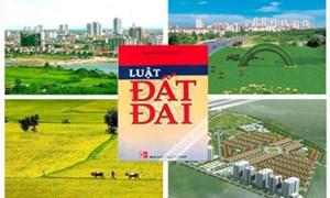 Tổng kết thi hành Luật Đất đai đảm bảo đúng tiến độ và chất lượng
