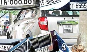 Nghiên cứu kỹ lưỡng trước khi áp dụng việc đấu giá biển số xe