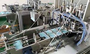 Hỏa tốc kiểm tra nhập khẩu dây chuyền sản xuất khẩu trang cũ