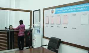 Công khai đầy đủ nội dung các thủ tục hành chính trong lĩnh vực hải quan