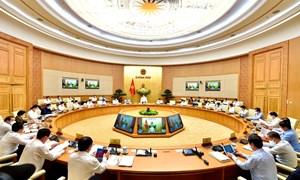 Nhiều nội dung quan trọng được thảo luận tại phiên họp Chính phủ thường kỳ tháng 4/2021