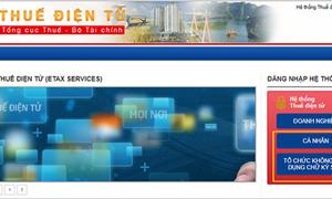 Từ ngày 6/5 triển khai dịch vụ thuế điện tử eTax tại 15  tỉnh, thành phố