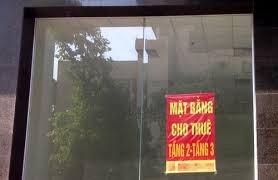 Giá mặt bằng kinh doanh tại Hà Nội giảm từ 20 - 30%