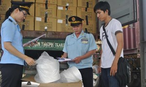 Ngành Hải quan quản lý chặt thực phẩm nhập khẩu