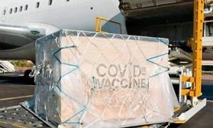 Ưu tiên cho những chuyến bay vận chuyển vắc xin Covid-19