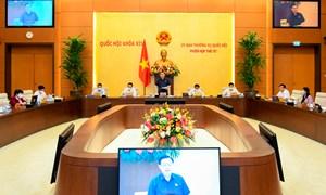 Khai mạc Phiên họp thứ 57 Ủy ban Thường vụ Quốc hội