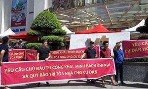 Một nửa chung cư Hà Nội chưa bàn giao phí bảo trì, đề nghị chuyển cơ quan điều tra