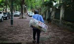 Sạp báo và nghề bán báo trong cơn lốc thị trường