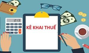 Quy định về phương pháp kê khai đối với hộ kinh doanh, cá nhân kinh doanh nộp thuế