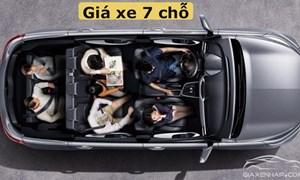 Xu hướng chọn ôtô 7 chỗ của khách Việt