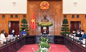 WB cam kết ưu tiên hỗ trợ Việt Nam trong công tác phòng chống dịch vàtăng trưởng kinh tế