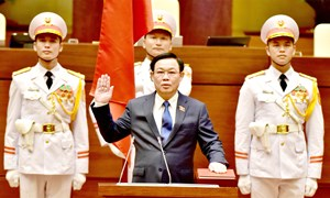 Ông Vương Đình Huệ tái đắc cử Chủ tịch Quốc hội khoá XV
